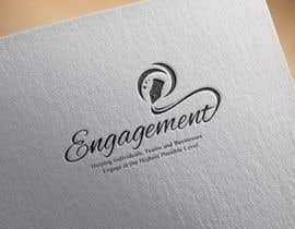 "Nro 14 kilpailuun Logo for - Alex Bonett - Speaker Author Mentor -(My Big Word is) ""Engagement"" käyttäjältä AquaGraphic"