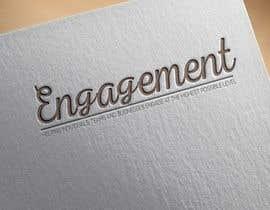 """Nro 10 kilpailuun Logo for - Alex Bonett - Speaker Author Mentor -(My Big Word is) """"Engagement"""" käyttäjältä shawoneagle"""