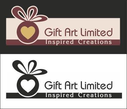 Design a Logo for Gift Art Limited için 20 numaralı Yarışma Girdisi
