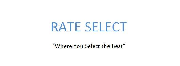 Bài tham dự cuộc thi #173 cho Rate Select slogan