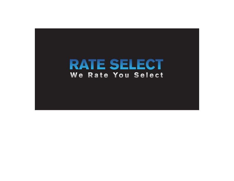 Bài tham dự cuộc thi #2 cho Rate Select slogan