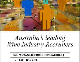 #14 for Design an Advertisement for recruitment into the wine industry af christarad