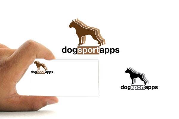 Penyertaan Peraduan #207 untuk Logo Design for www.dogsportapps.com