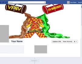 Nro 3 kilpailuun Cartoon style Facebook cover image. käyttäjältä Atmosk