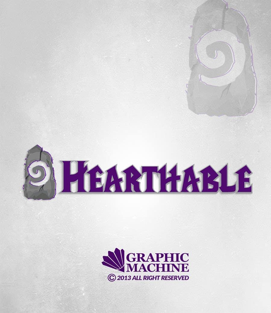 Proposition n°24 du concours Design a Logo for Hearthstone Fan Site