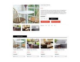 Nro 57 kilpailuun Design a single product page mockup for furniture ecommerce käyttäjältä q7r000007