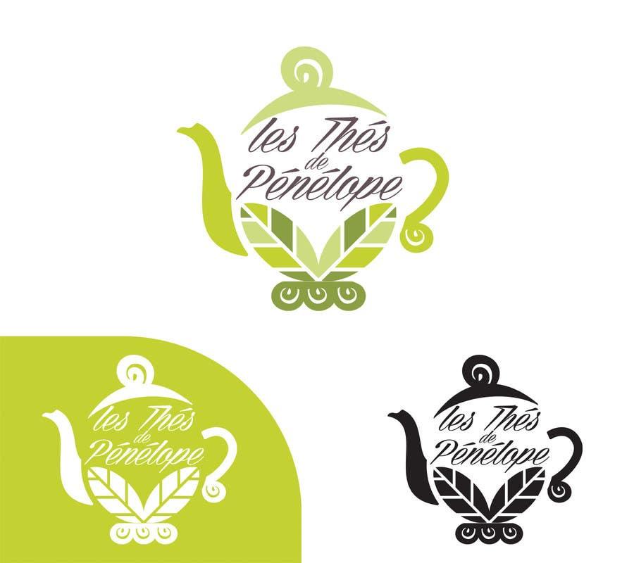 Penyertaan Peraduan #                                        65                                      untuk                                         Logo for a young girl home grown herbal tea compagny (les Thés de Penny)
