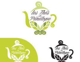 #65 for Logo for a young girl home grown herbal tea compagny (les Thés de Penny) by Helen2386