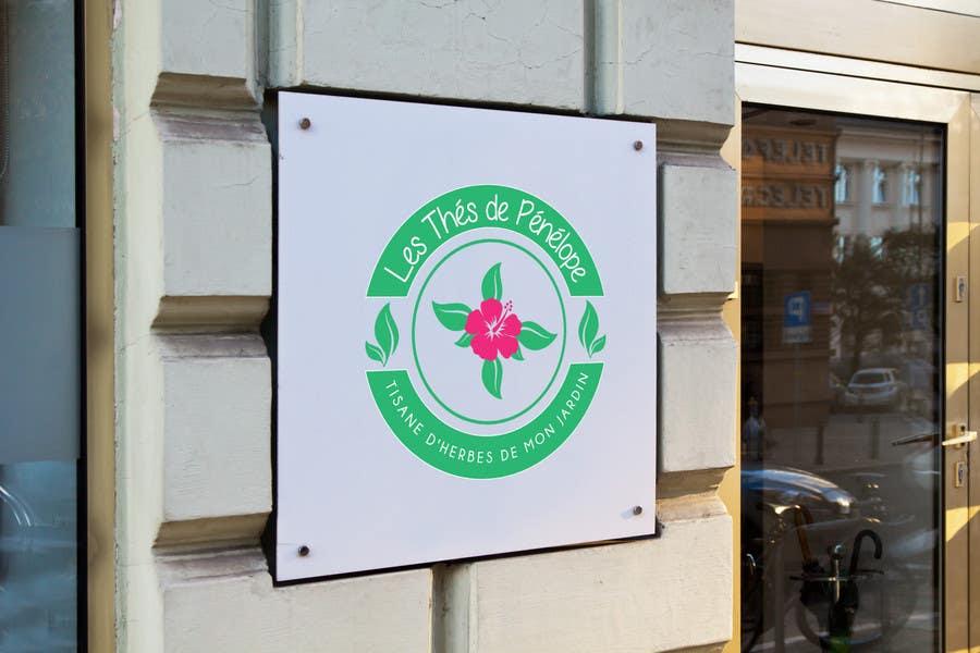Penyertaan Peraduan #                                        68                                      untuk                                         Logo for a young girl home grown herbal tea compagny (les Thés de Penny)