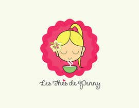 #54 for Logo for a young girl home grown herbal tea compagny (les Thés de Penny) by ghcc1932