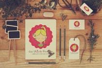 Logo Design Entri Peraduan #70 for Logo for a young girl home grown herbal tea compagny (les Thés de Penny)