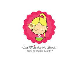 #71 for Logo for a young girl home grown herbal tea compagny (les Thés de Penny) by ghcc1932