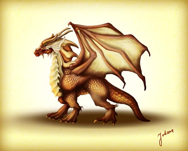 #35 for Awesome Dragon Illustration by ArtJohana
