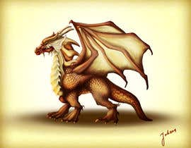 nº 35 pour Awesome Dragon Illustration par ArtJohana