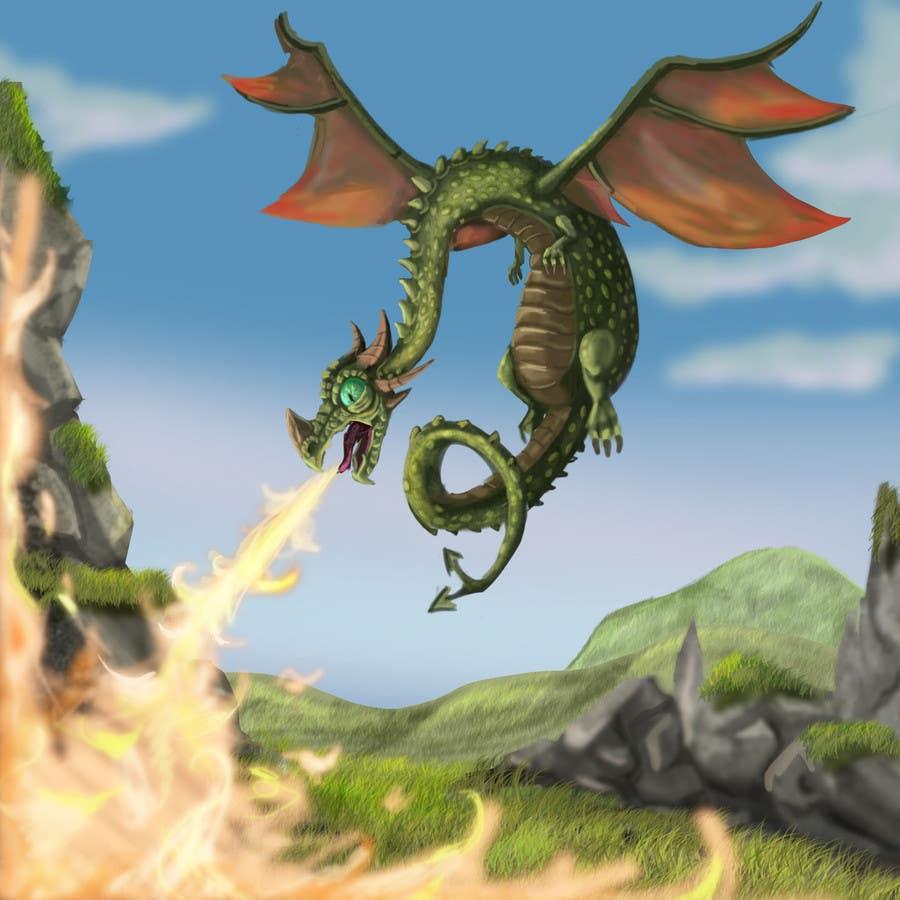#29 for Awesome Dragon Illustration by eduardobravo