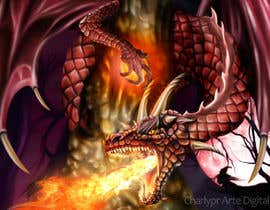 #34 para Awesome Dragon Illustration por Charlypr