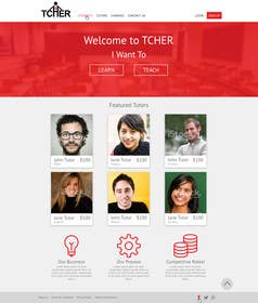 #17 for Graphics Design for Home Page of TCHER Agency Website by nelsonc99
