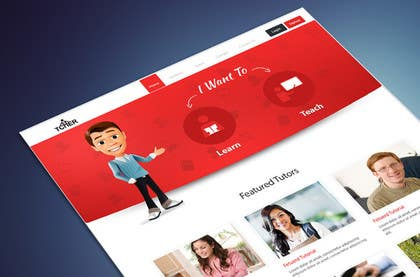 #33 for Graphics Design for Home Page of TCHER Agency Website by SadunKodagoda