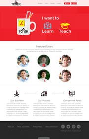 #20 for Graphics Design for Home Page of TCHER Agency Website by JosephNgo