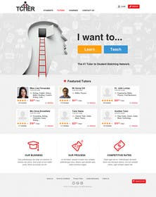 #26 for Graphics Design for Home Page of TCHER Agency Website by JeremyThornton8