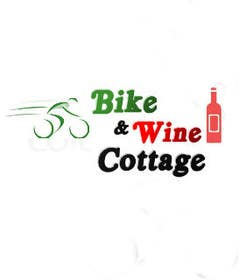 #6 para Design a Logo for Bike&Wine Cottage - repost - repost por cristinandrei