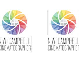 #142 para Logo Design for Freelance Cinematographer por AgustinMonster