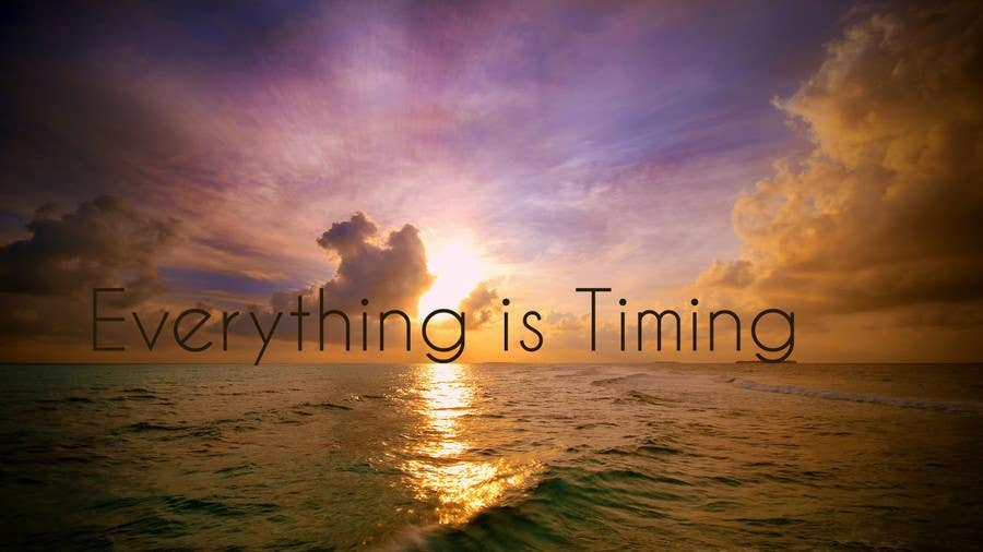 #16 for Splash Page for Everything is Timing by grapaa