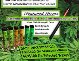kimtares tarafından Design a Cannabis Flyer için no 58