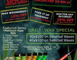 jassna tarafından Design a Cannabis Flyer için no 28