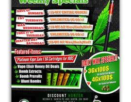 MehrdadPN tarafından Design a Cannabis Flyer için no 67