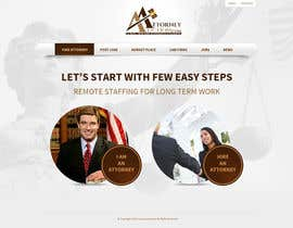 #19 para Design a Website Mockup for AttorneyAuction.com por tania06