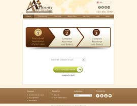 #34 para Design a Website Mockup for AttorneyAuction.com por atularora