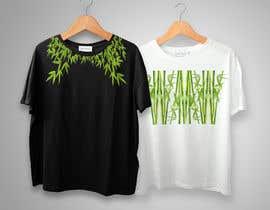 Nro 24 kilpailuun Bamboo design for tee shirt käyttäjältä blackdahlia24