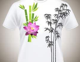 Nro 11 kilpailuun Bamboo design for tee shirt käyttäjältä parrajg17
