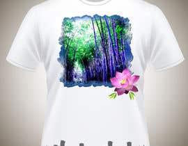 Nro 14 kilpailuun Bamboo design for tee shirt käyttäjältä parrajg17
