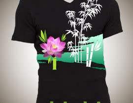 Nro 15 kilpailuun Bamboo design for tee shirt käyttäjältä parrajg17