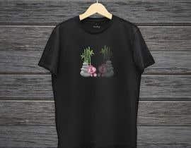 IrenaKocic tarafından Bamboo design for tee shirt için no 7
