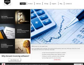 #12 cho Redesign Front Page of Zervant Website bởi shajib3006