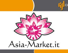 #4 para Design a Logo for our new online-shop of ethnic food Asia-Market.it por CasteloGD