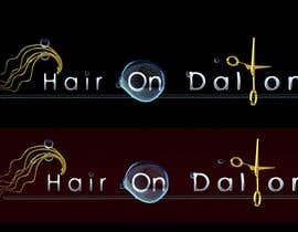 #241 za Logo Design for HAIR ON DALTON od fuzzyfish