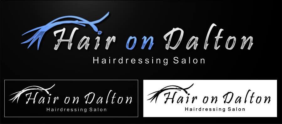 #145. pályamű a(z)  Logo Design for HAIR ON DALTON versenyre