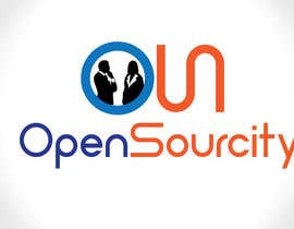 #7 para Design a Logo for Open Sourcity por karmenflorea