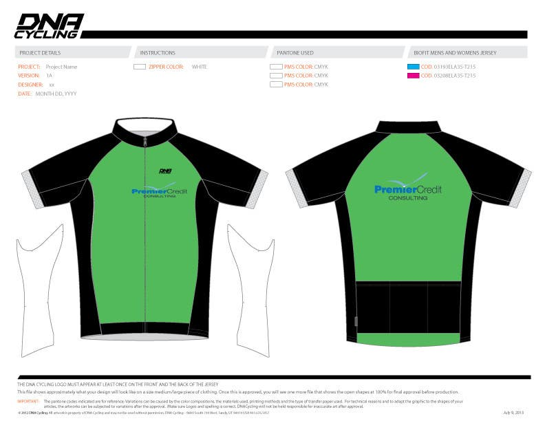 Konkurrenceindlæg #21 for Full Cycling Kit/Jersey Design