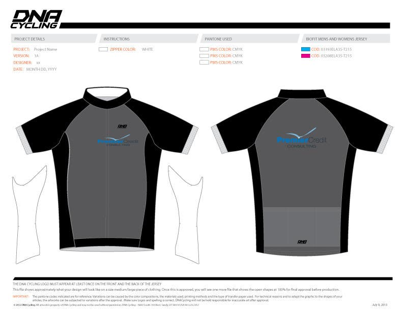 Konkurrenceindlæg #25 for Full Cycling Kit/Jersey Design
