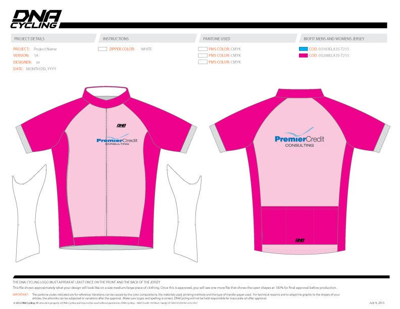Konkurrenceindlæg #26 for Full Cycling Kit/Jersey Design