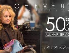 meenastudio tarafından Improve a Flyer Design for a Beauty Salon için no 48