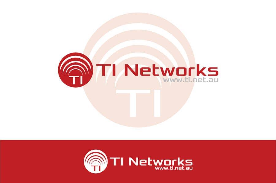 Bài tham dự cuộc thi #                                        120                                      cho                                         Design a Logo for TI Networks (www.ti.net.au)