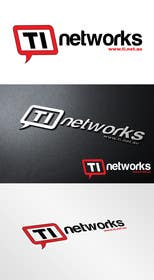 #28 for Design a Logo for TI Networks (www.ti.net.au) af SergiuDorin