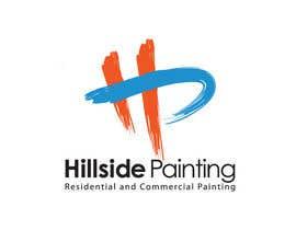 Nro 20 kilpailuun Design a Logo for Hillside Painting käyttäjältä areztoon