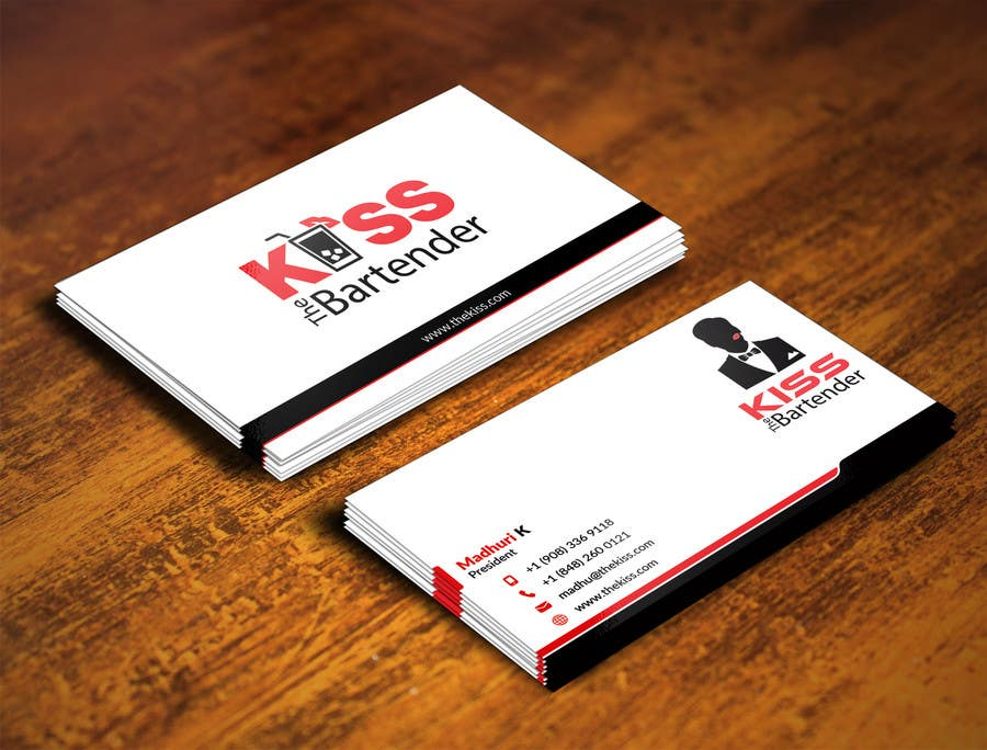 Entry #1 by adarshdk for Design some Business Cards for a mobile ...